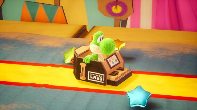 Yoshi's Crafted World Review Labo Costume