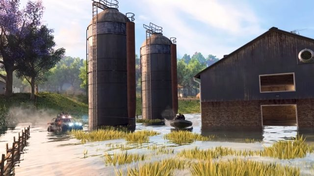 Blackout Map Changes Wetworks