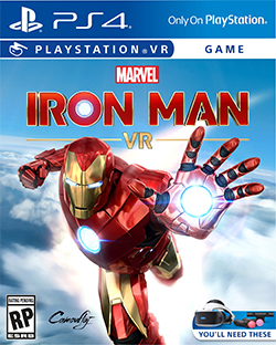 Box art - Iron Man VR