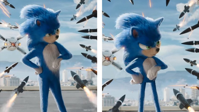 Here's how the Sonic the Hedgehog Movie would have looked