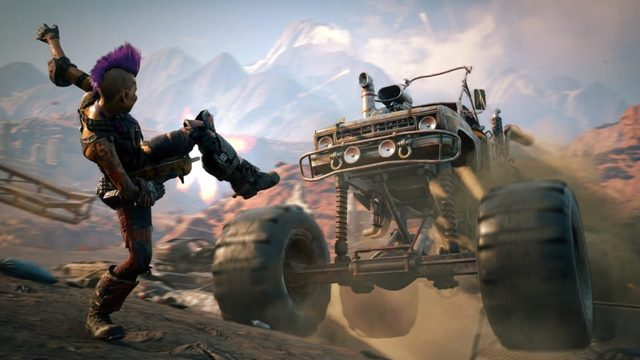 Rage 2 Vehicles