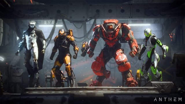 Anthem Cataclysm Public Test Servers