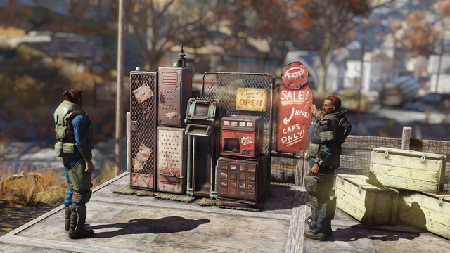 Fallout 76 Vending Machines