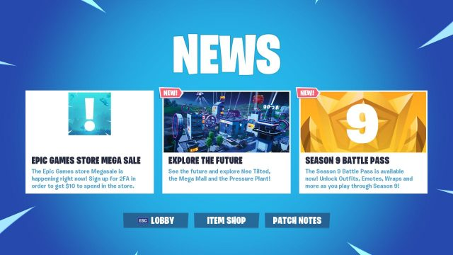 Fortnite Epic Games Store Mega Sale
