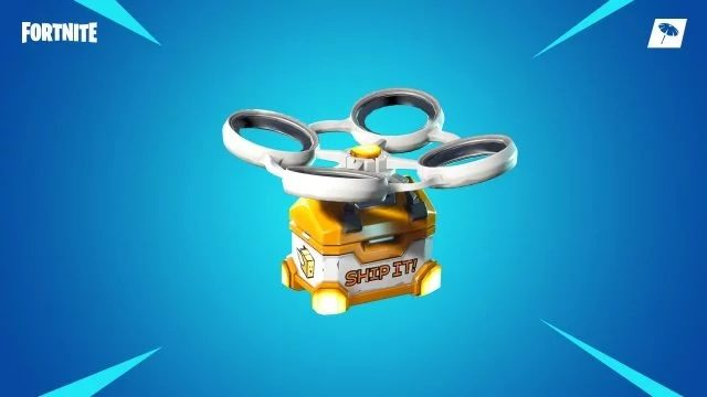 Fortnite Gold Text Hot Spot Loot Carrier