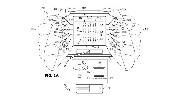 xbox braille controller patent possibly teases blind-friendly gamepad