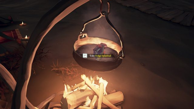 Sea of Thieves - Cook fish