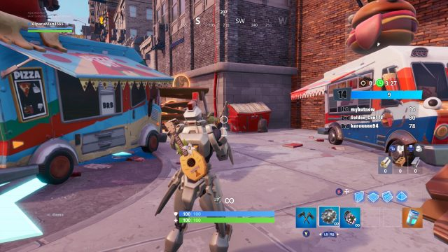 Fortnite Downtown Drop Challenges | Change tiles and dance ...