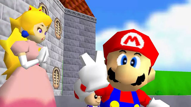 A Super Mario 64 Spotify playlist has been spotted