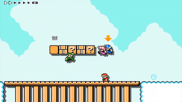Super Mario Maker 2 co-op