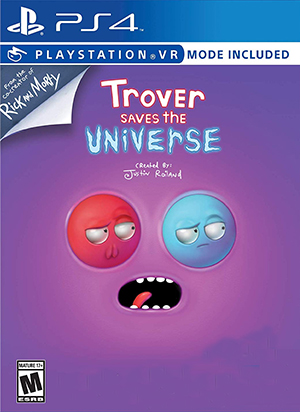 Box art - Trover Saves the Universe