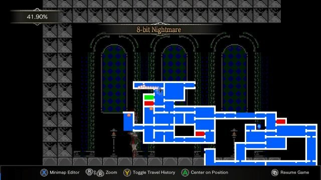 Bloodstained Ritual of the Night 8-bit Nightmare location