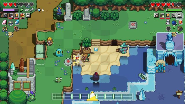 Cadence of Hyrule - How to get the Hibiscus Potion