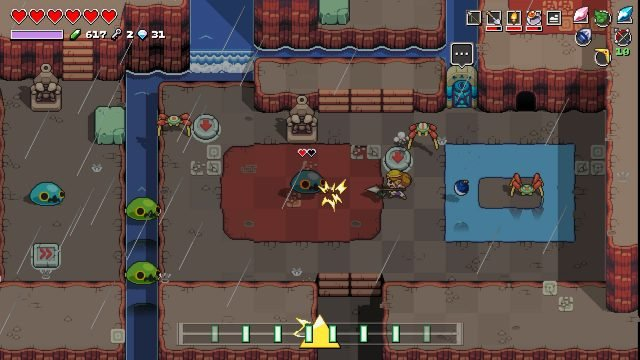 Cadence of Hyrule - coop multiplayer