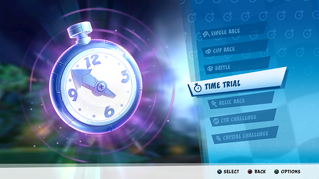 Image result for crash team racing nitro fueled time trial