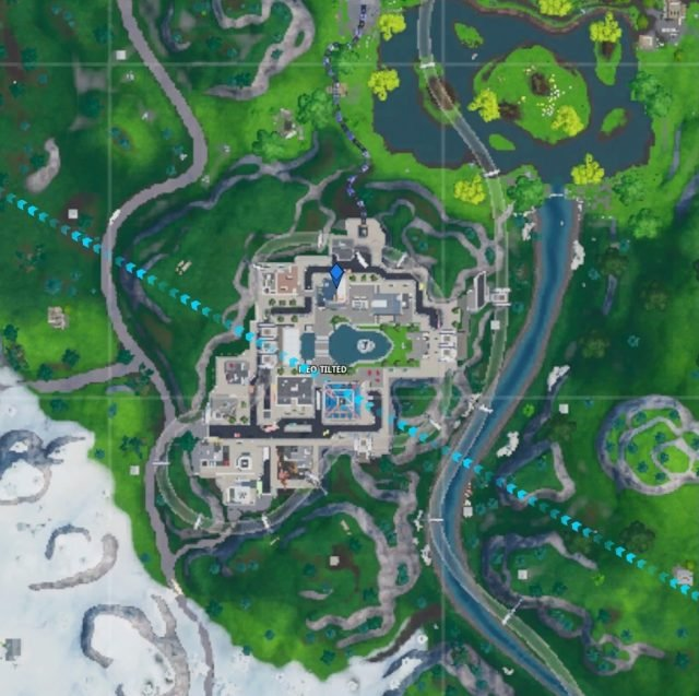 Fortbyte 100 Location map