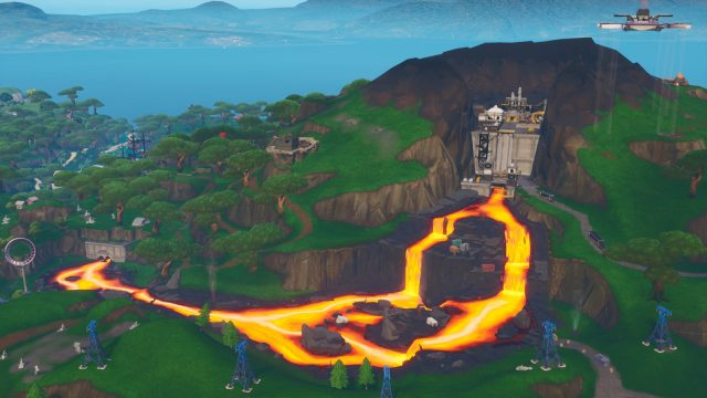 Fortnite Fortbyte 12 Location - where to find Fortbyte 12 inside molten tunnel