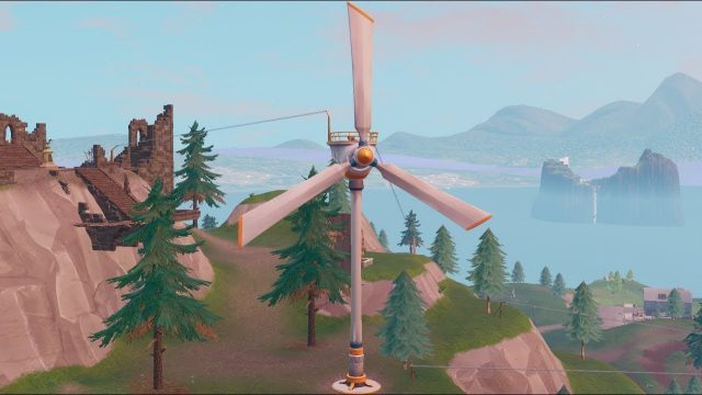 Fortnite Visit Different Turbines in a Single Match