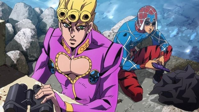 JoJo's Bizarre Adventure Golden Wind Episode 36