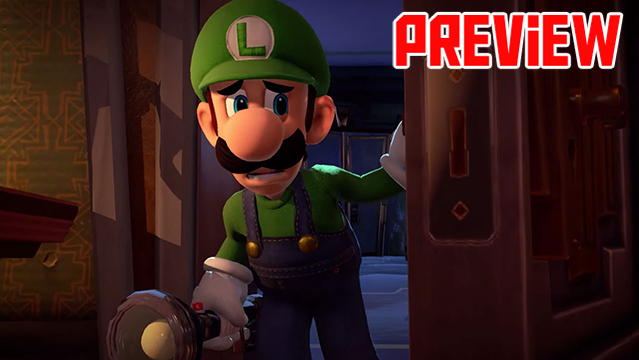Luigi's Mansion 3 Preview E3 2019 Header logo