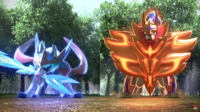 Pokemon Sword And Shield Legendaries Confirmed As Zacian And