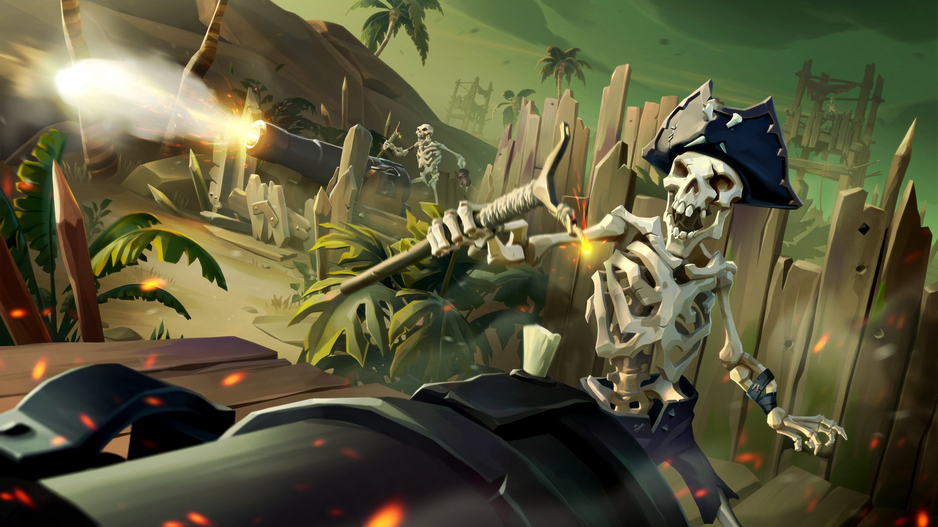 Sea of Thieves Halo Spartan ship set available through E3 2019