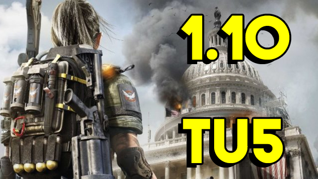 The Division 2 1.10 Update Patch Notes