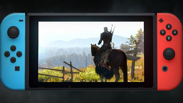 The Witcher 3 Switch dynamic resolution