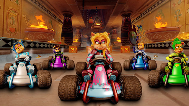 Crash Team Racing Nitro-Fueled post-launch content includes Tawna