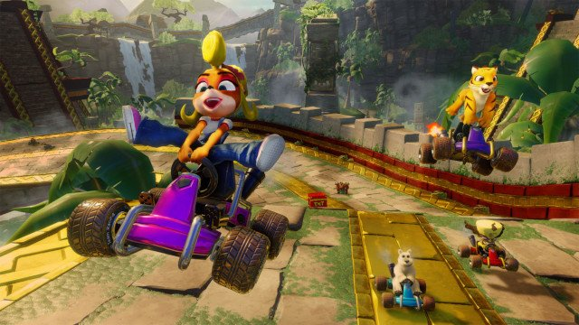 crash team racing nitro-fueled online