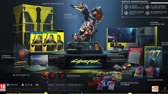 cyberpunk 2077 collectors edition ps4 pc xbox
