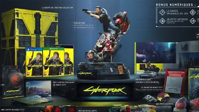 cyberpunk 2077 collectors edition ps4 xbox one pc