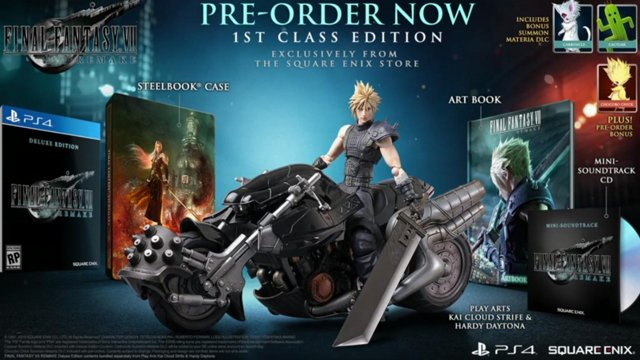 final fantasy 7 1st class edition