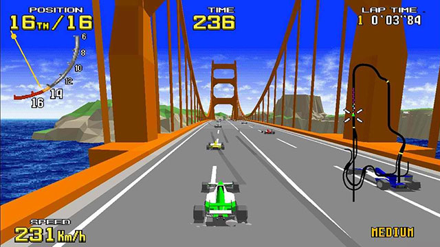 Virtua Racing Switch arrives in the West on June 27