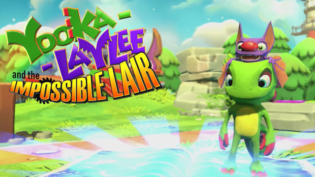 yooka-laylee and the impossible lair trailer