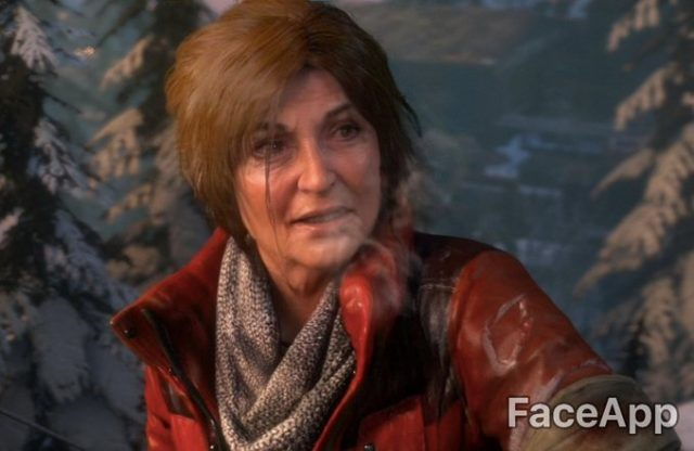 old video game characters faceapp