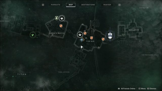 Destiny 2 Sinking Docks