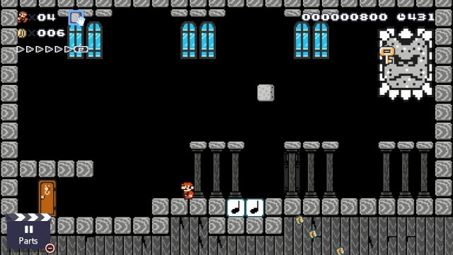 Super Mario Maker 2 Stone of Destiny