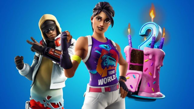 Fortnite's Second Birthday Challenges