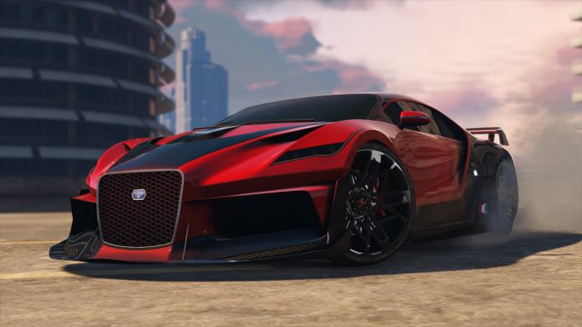 GTA Online The Diamond Casino and Resort Truffade Thrax