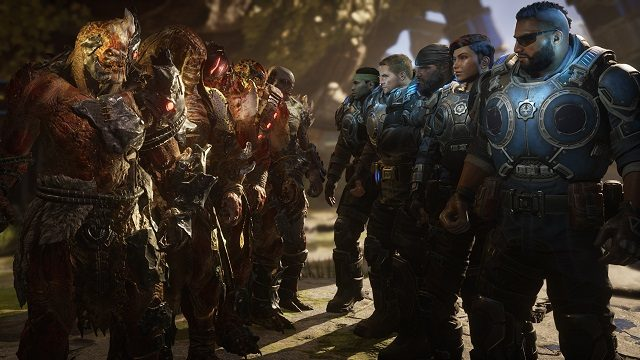 Gears 5 Arcade Roster