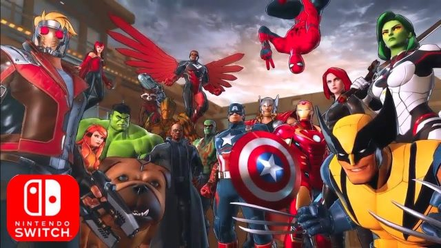 Marvel Ultimate Alliance 3 Co-Op