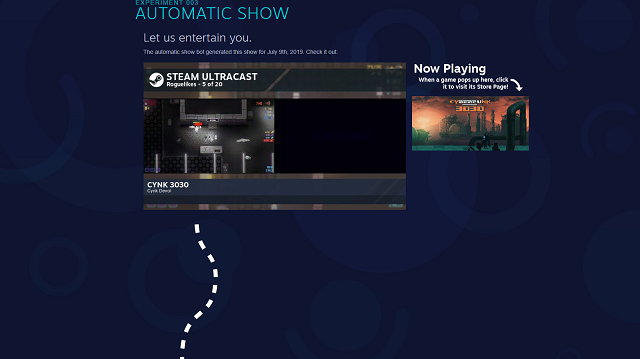 Steam Labs Automatic Show