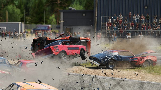 Wreckfest PS4 and Xbox One release date