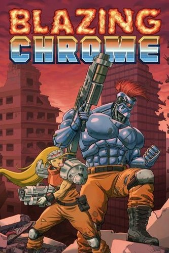 Box art - Blazing Chrome