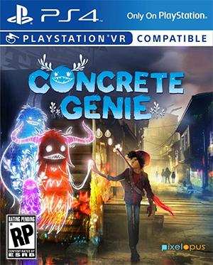 Box art - Concrete Genie