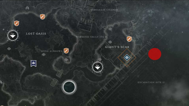 destiny 2 io excavation site map