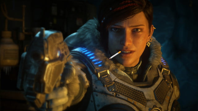 gears 5 smoking