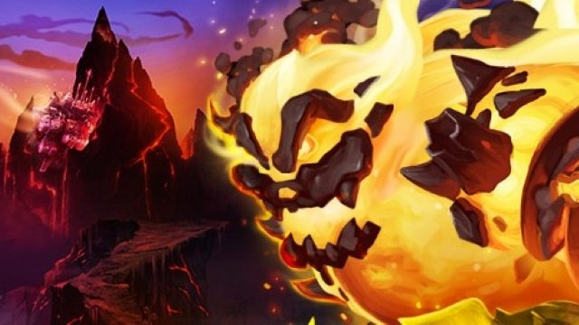 Hearthstone Fire FestEVIL