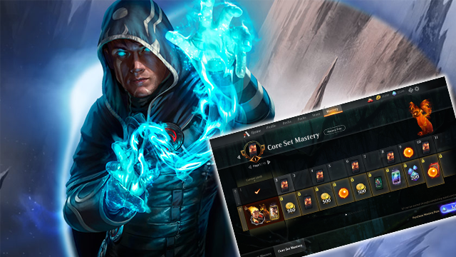 magic the gathering arena mastery system